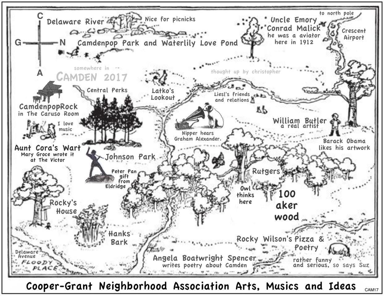 Author/admin/page/3 - Cooper Grant Neighborhood Association Arts Flyer Featuring Camdenpoprock